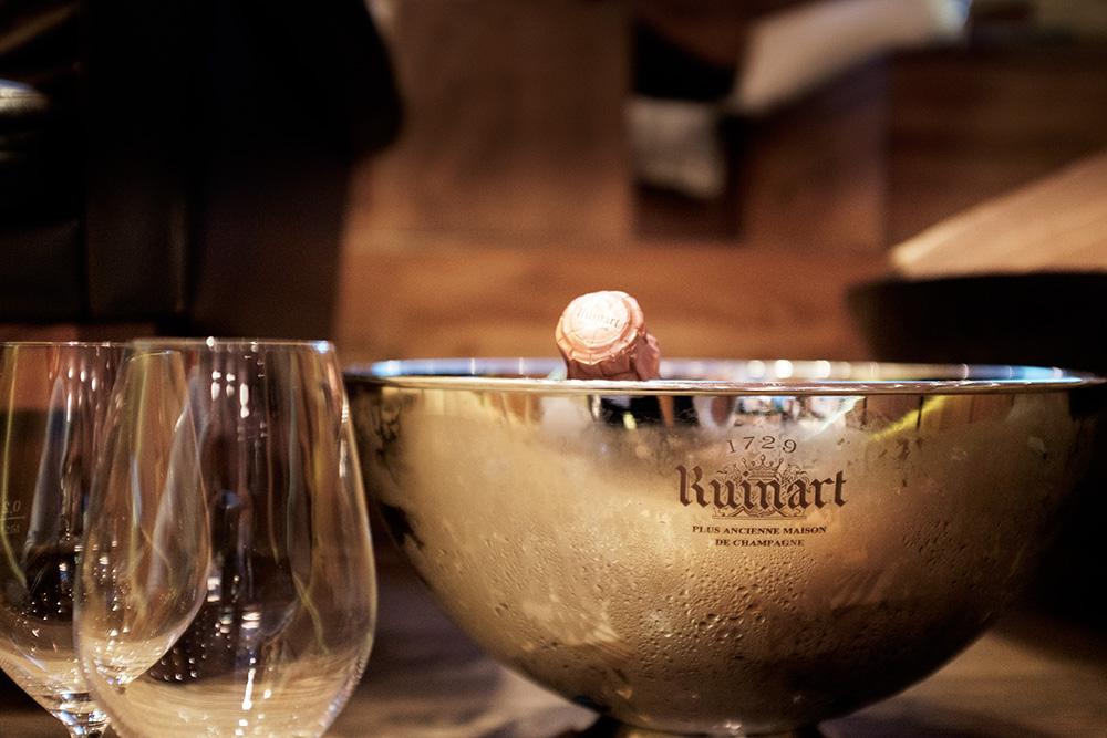 Champagner im il Boccone Konstanz