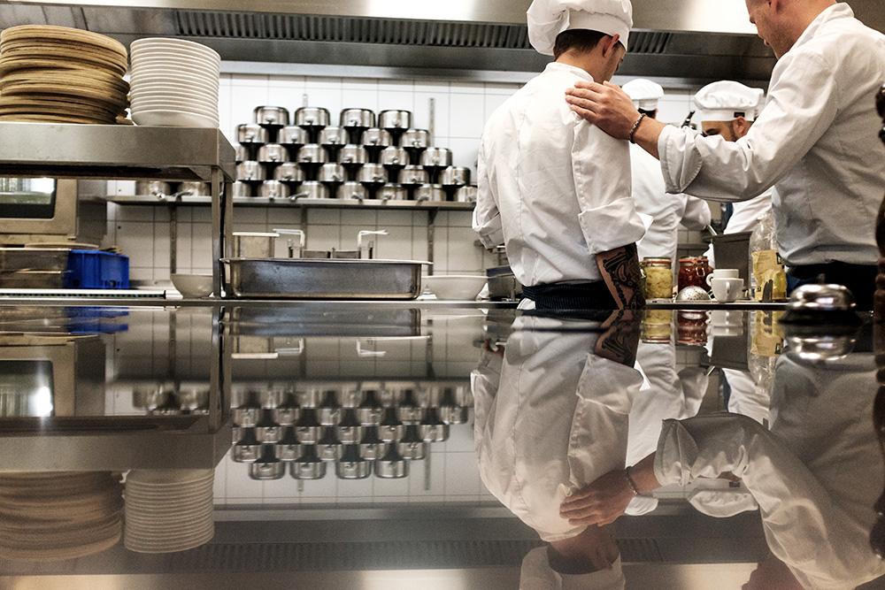 Die Küche im il Boccone Konstanz